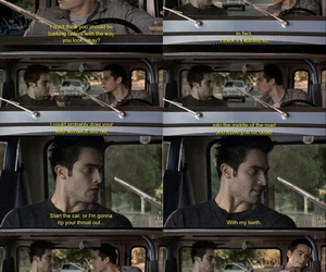 funny, tyler hoechlin, and teen wolf image