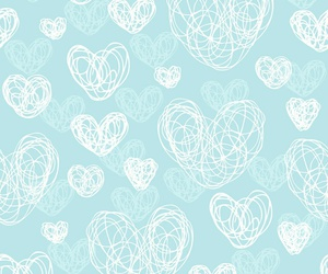 blue, Dream, and heart image