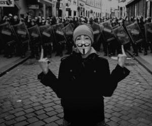 anonymous, cool, and fuck image