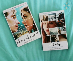 books, movie, and if i stay image