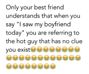 boyfriend, best friend, and funny image
