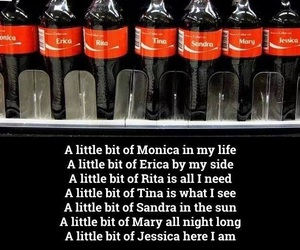 song, coke, and funny image