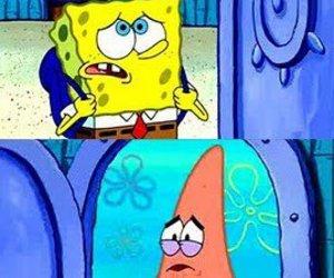 spongebob, patrick, and friends image