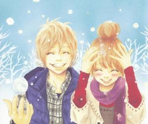 anime, bokura ga ita, and couple image