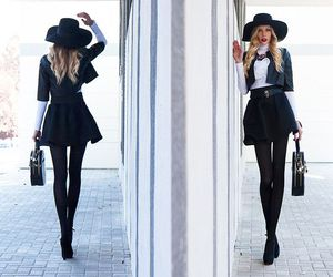 booties, skirt, and style image