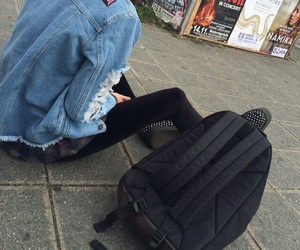 bag, blue, and creepers image