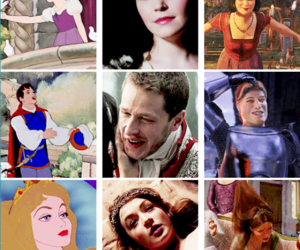 disney, once upon a time, and dream works image