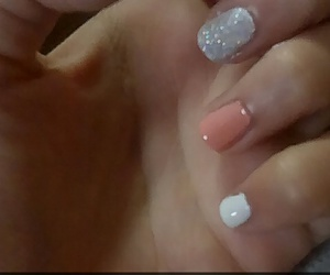 nails, one love, and nail designs image