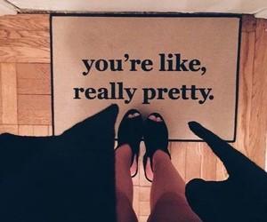 pretty, black, and heels image