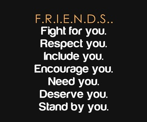black, friends, and words image