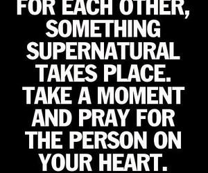 pray, heart, and quote image
