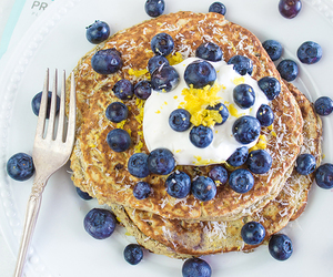 blueberries, fit, and food image