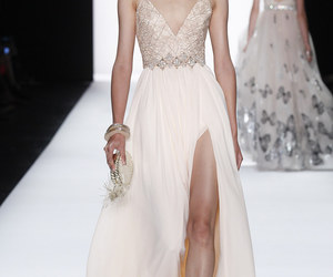 dress, fashion, and badgley mischka image