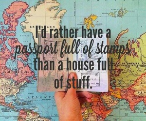 travel, passport, and world image