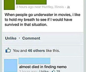 funny, nemo, and finding nemo image