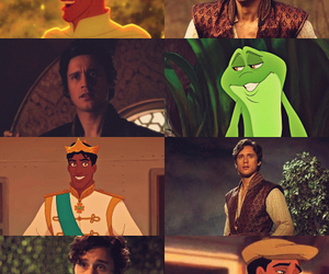 cyrus, the Princess and the frog, and peter gadiot image