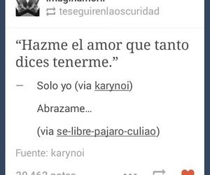 segun, amor, and lo tienes image