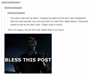 supernatural, dean winchester, and lucifer image