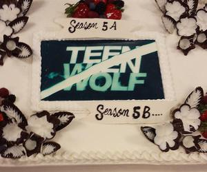 cake and teen wolf image