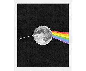 Pink Floyd, black and white, and music image