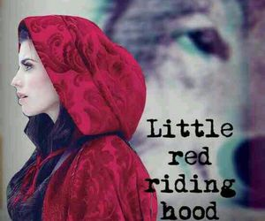 little red riding hood, once upon a time, and ruby image