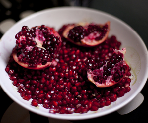 pomegranate and red image