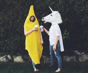 unicorn, banana, and friends image
