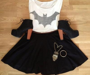 fashion, batman, and outfit image