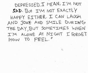 sad, quotes, and depressed image