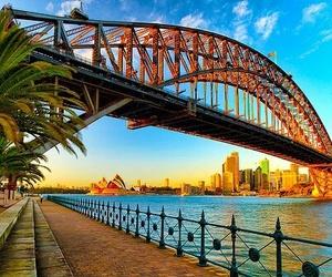 bridge, photography, and australia image