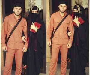 muslim, couple, and islam image