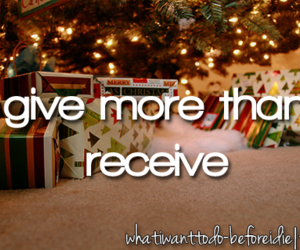 before i die, christmas, and presents image