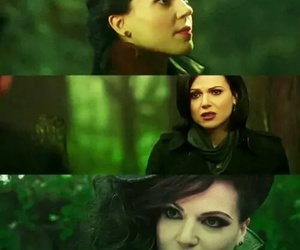 evil queen and regina mills image