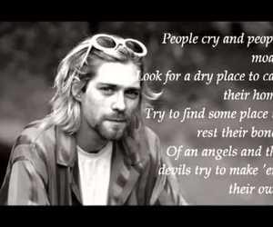 grunge, kurt cobain, and life image