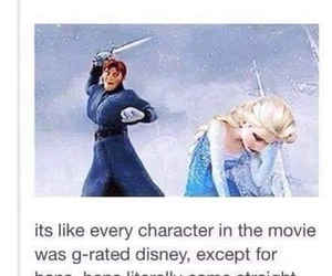 frozen, funny, and game of thrones image