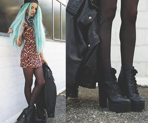beautiful, fashion, and grunge image