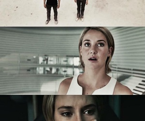 Shailene Woodley, tris prior, and theo james image