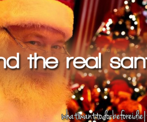 before i die, santa claus, and bucket list image