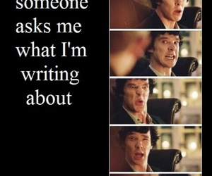 funny, sherlock, and me image
