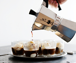 coffee, ice cream, and drink image