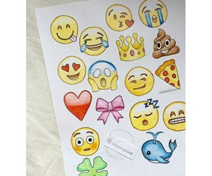 emojis, colorful, and draw image
