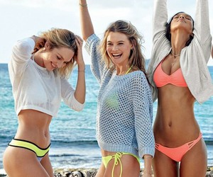 model, summer, and candice swanepoel image