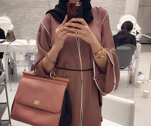 hijab, abaya, and stylish image