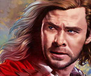 Avengers, fanart, and thor image