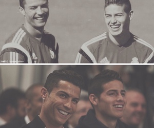 real madrid, james rodriguez, and cristiano ronaldo image