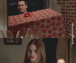 birthday, party, and stiles x lydia image