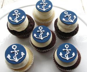 anchor, cupcake, and food image