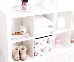 pink, white, and room image