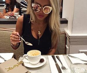 fashion, blonde, and luxury image