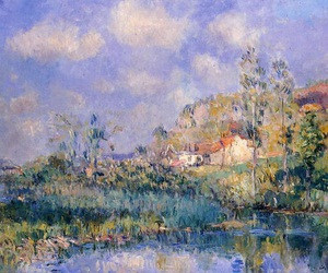 art, beautiful, and impressionism image